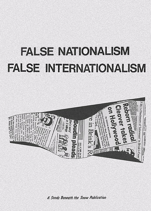 False Nationalism False Internationalism by E. Tani, K. Sera